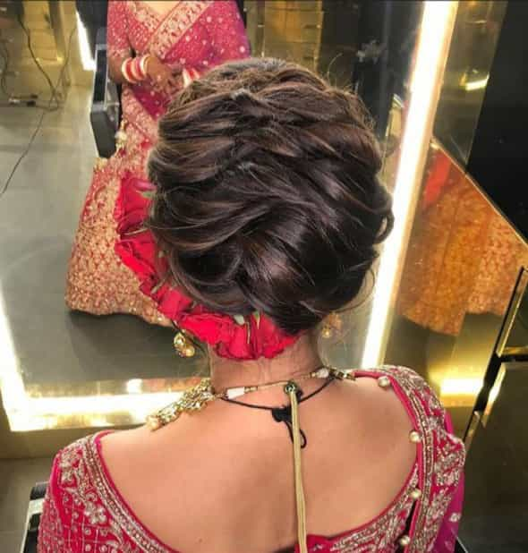 Bridal Hairstyles for the Wedding Pheras