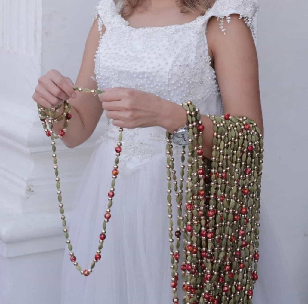Return Gifts for Baraat Welcome and Pheras - Elaaichi (Cardamom) Mala