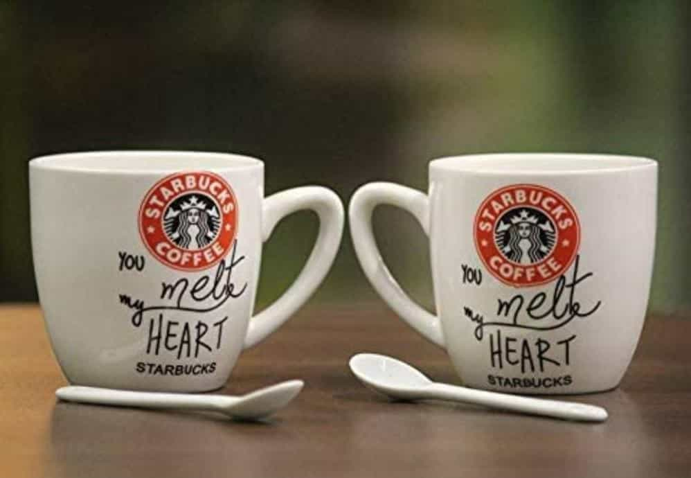 Wedding Return Gifts for Sangeet - Starbucks Coffee Mugs